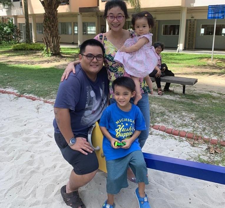 teacher daniel and family